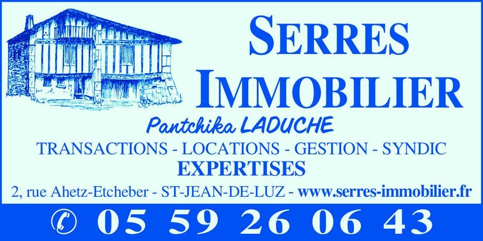 Serres Immobilier - Agence Immobilière - 64500 St Jean de Luz